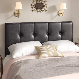 Wiedeman Queen Upholstered Panel Headboard by Charlton Home