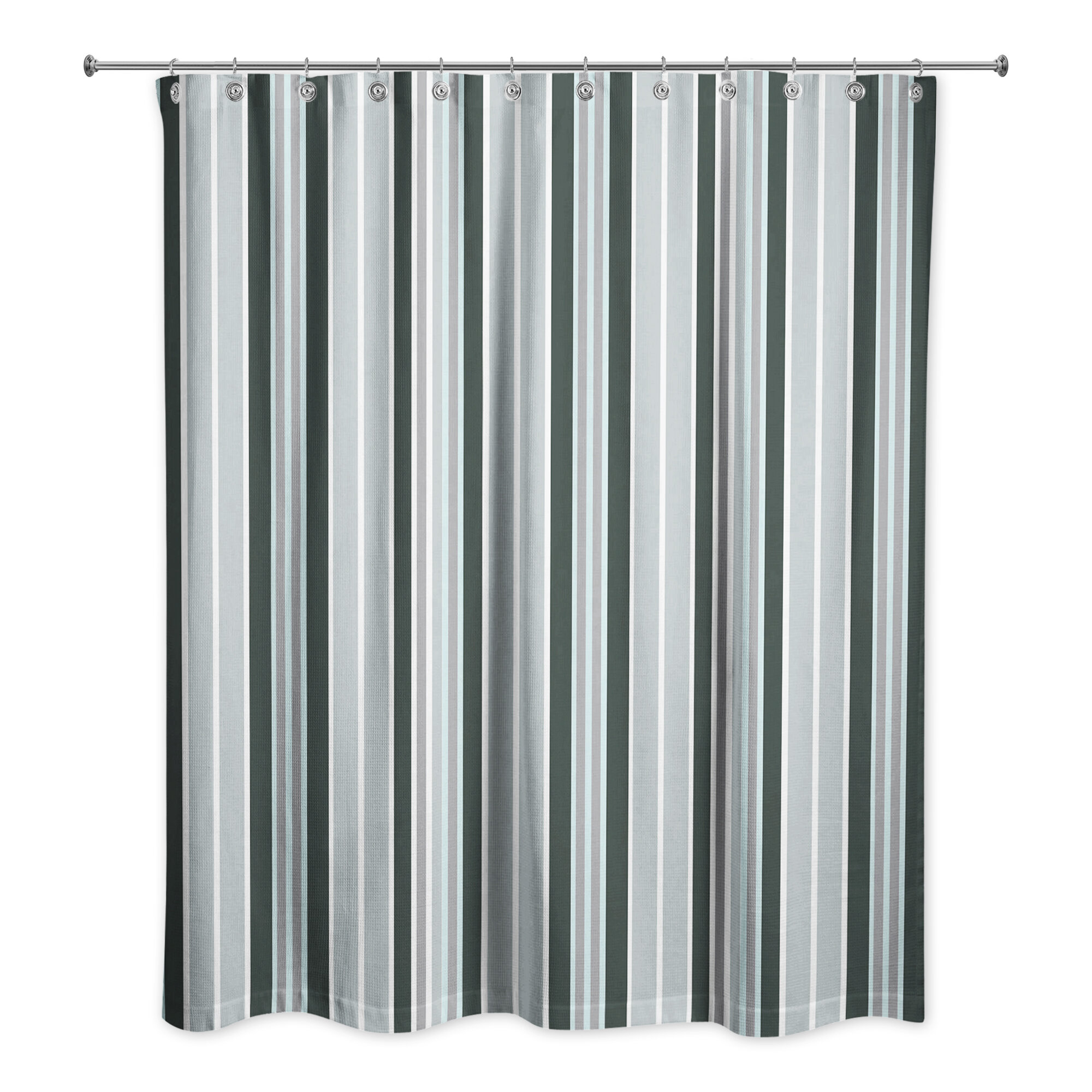 Mathes Single Shower Curtain