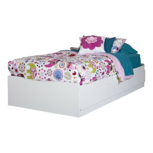 Fusion Vito Twin Mate's Bed with Storage by South Shore