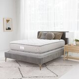 """Serta Two-Sided 12"""" Plush Tight Top Innerspring Mattress and Box Spring Set"""