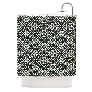 Geometric by Heidi Jennings Single Shower Curtain