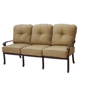 Windley Deep Seating Sofa With Cushion by Fleur De Lis Living Sale