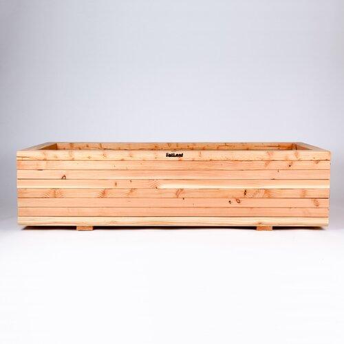 Paragon Estates Wooden Planter Box Union Rustic Size: Large