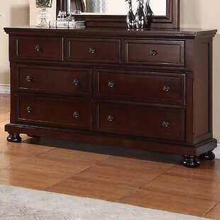 Lillianna 7 Drawer Dresser with Mirror