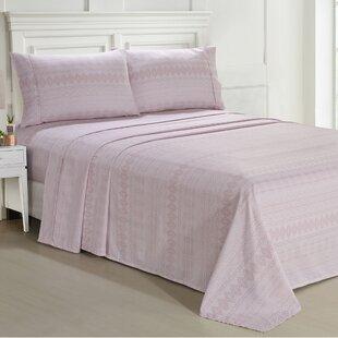 Florentine Lace Premium Microfiber Sheet Set ByOphelia & Co.