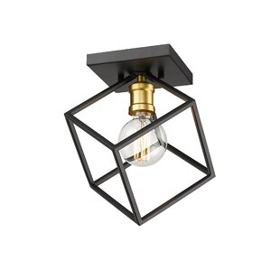 Square Rectangle Unique Statement Flush Mount Lighting You Ll Love In 2021 Wayfair