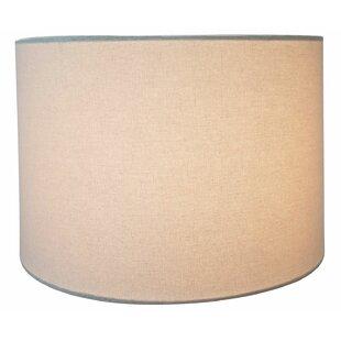 Shallow Hardback 14 Linen Drum Lamp Shade