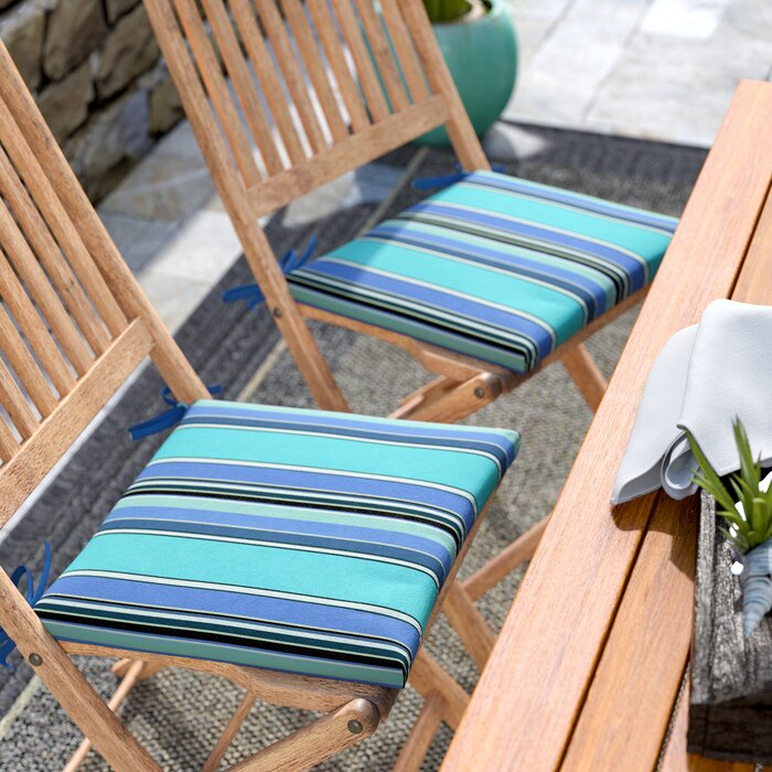 Merrimack Indoor Outdoor Sunbrella Dining Chair Cushion