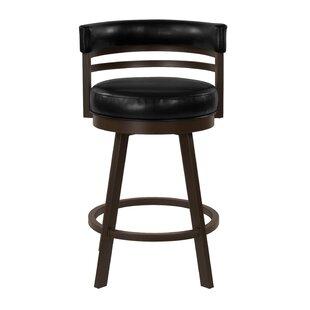 Cutlip Swivel Bar Stool by Red Barrel Studio