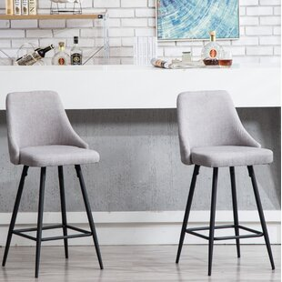 Sofley Premium 37 Bar Stool (Set of 2) by Wrought Studio