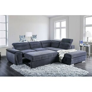 Hambrick Sleeper Sectional with Ottoman