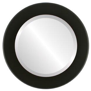 Winston Porter Menlo Framed Round Accent Mirror