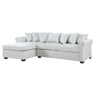 Aeryn Sectional Upholstery: Beige by Beachcrest Home