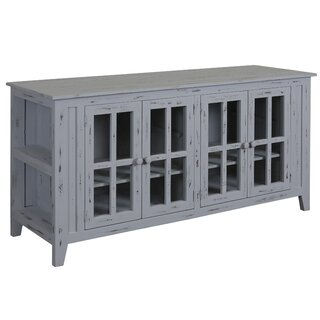 Alessia Solid Wood TV Stand for TVs up to 65 inches by Gracie Oaks SKU:DA800886 Shop
