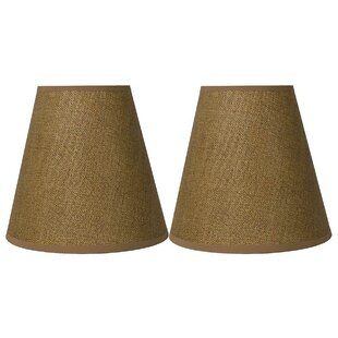 Hardback 9 Silk/Shantung Empire Lamp Shade (Set of 2)