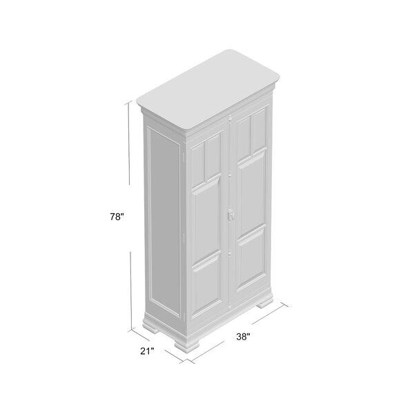 point home Armoire /à cl/és design r/étro Rouge 48 cm