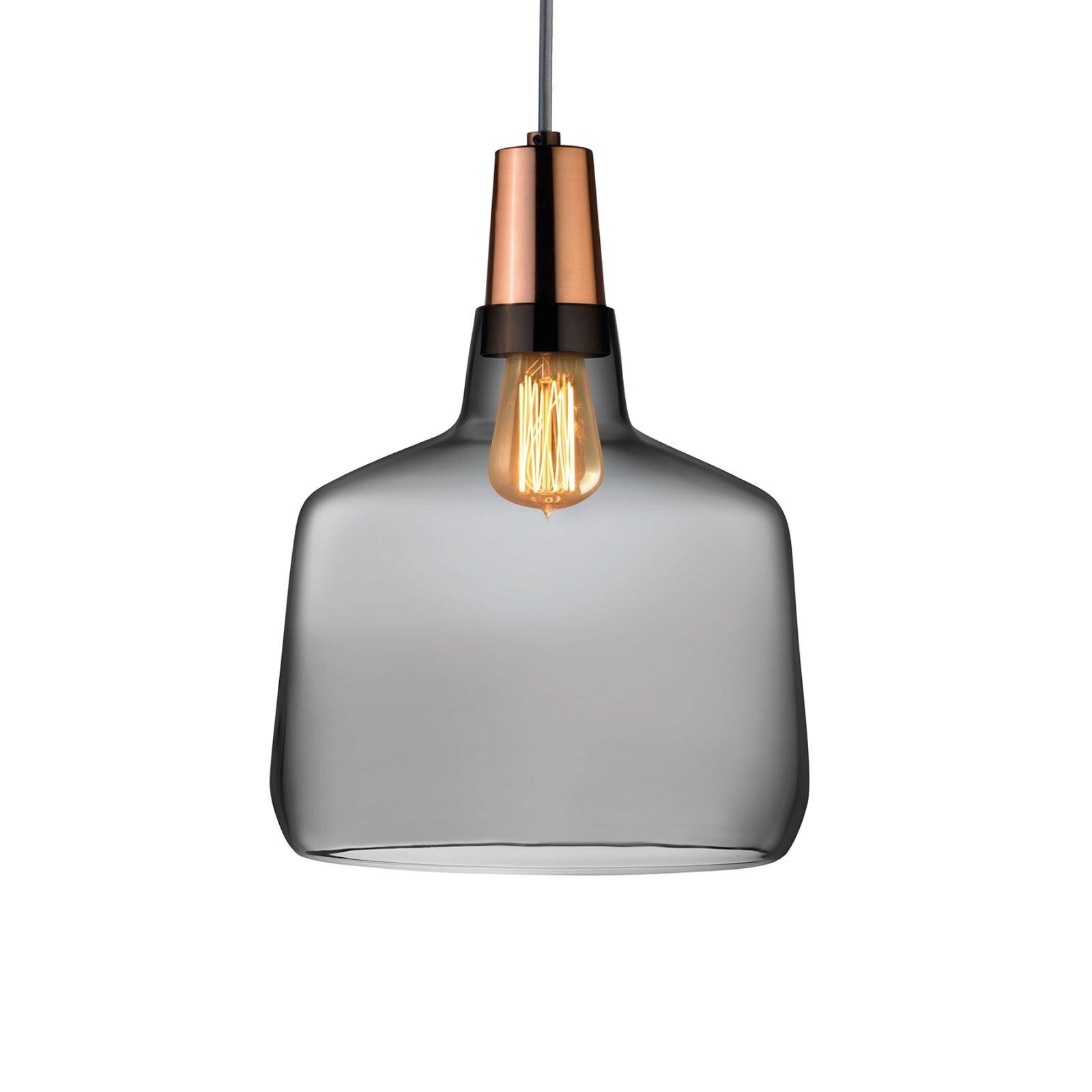 Nude Mono 1 Light Single Jar Pendant Perigold