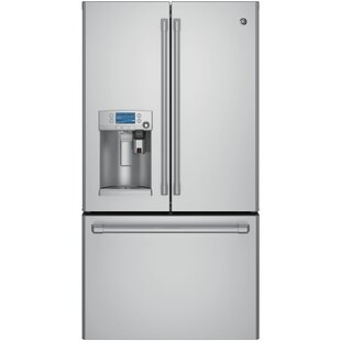 27.8 cu. ft. Energy Star® French Door Refrigerator  Keurig® K-Cup® Brewing System by Café™