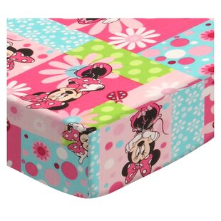 Searching for Minnie Mouse Patch 3 Piece Crib Bedding Set BySheetworld