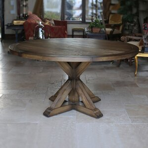 Armancourt Reclaimed Wood Round Dining Table