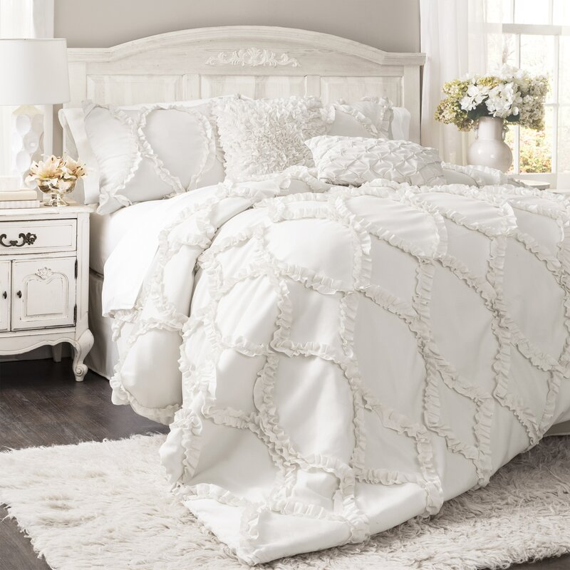 The Twillery Co Erion 3 Piece Comforter Set Reviews Wayfair