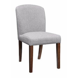 Updegraff Wooden Upholstered Dining Chair (Set of 2) by Millwood Pines