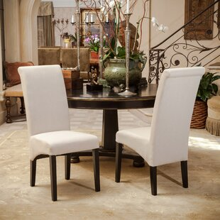 Monica Upholstered Dining Chair (Set of 2)