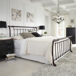 Sleigh Bed by Symple Stuff