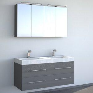 bad11® 120 cm Wandmontierter Waschtisch für Do..