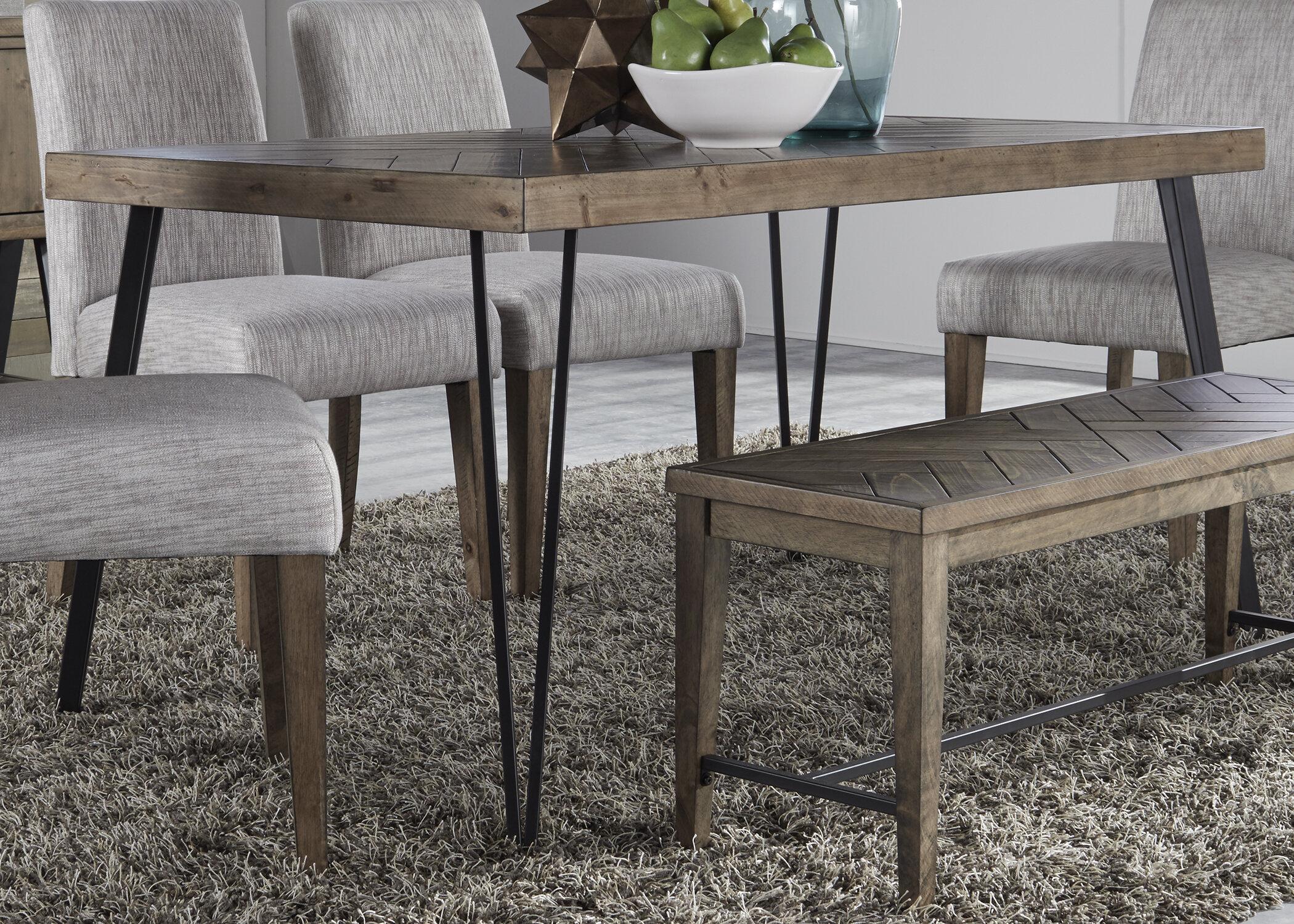 Stupendous Cleasby 6 Piece Dining Set Creativecarmelina Interior Chair Design Creativecarmelinacom