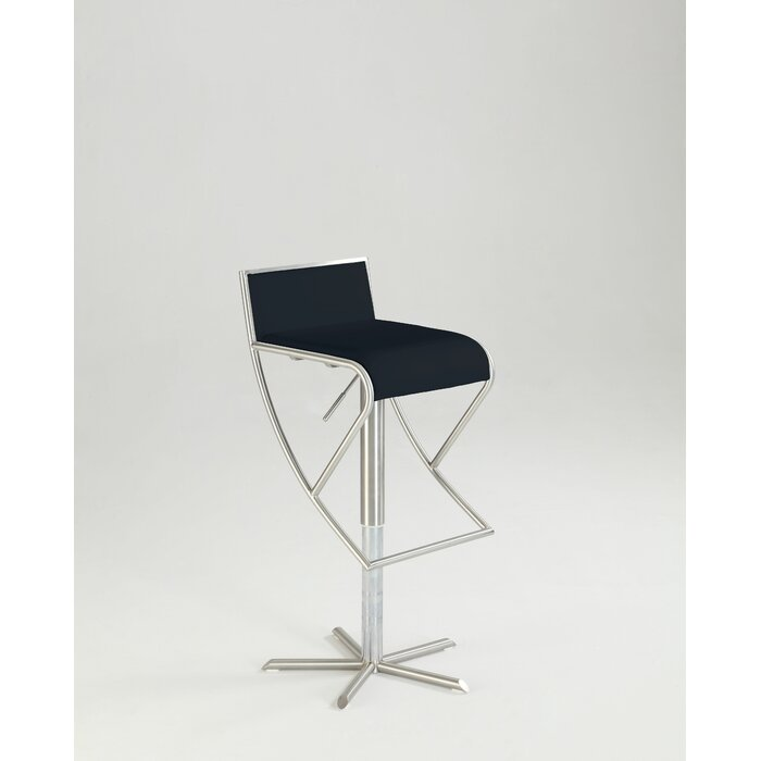 Stupendous Garmine Adjustable Height Swivel Bar Stool Caraccident5 Cool Chair Designs And Ideas Caraccident5Info