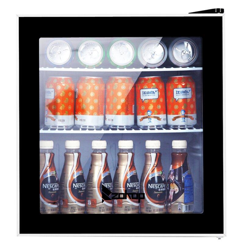 Ubesgoo Beverage 1 6 Cu Ft Freestanding Mini Fridge Wayfair