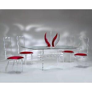 Crystal 5 Piece Dining Set by Muniz