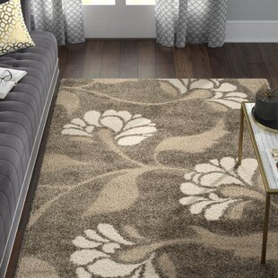 Eulalia Smoke/Beige Area Rug by Willa Arlo Interiors
