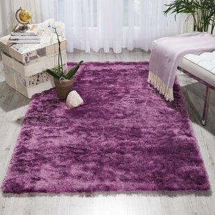 Pilipenko Hand Tufted Lavender Area Rug