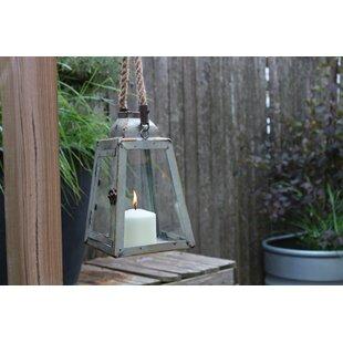 Metal Lantern By Highland Dunes Outdoor Lighting