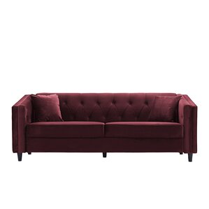 Amberwood Classic Living Room Couch Sofa with Tufted Buttons by Alcott Hill