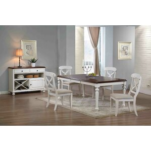 Lockwood Butterfly Leaf 6 Piece Dining Set by Lo..