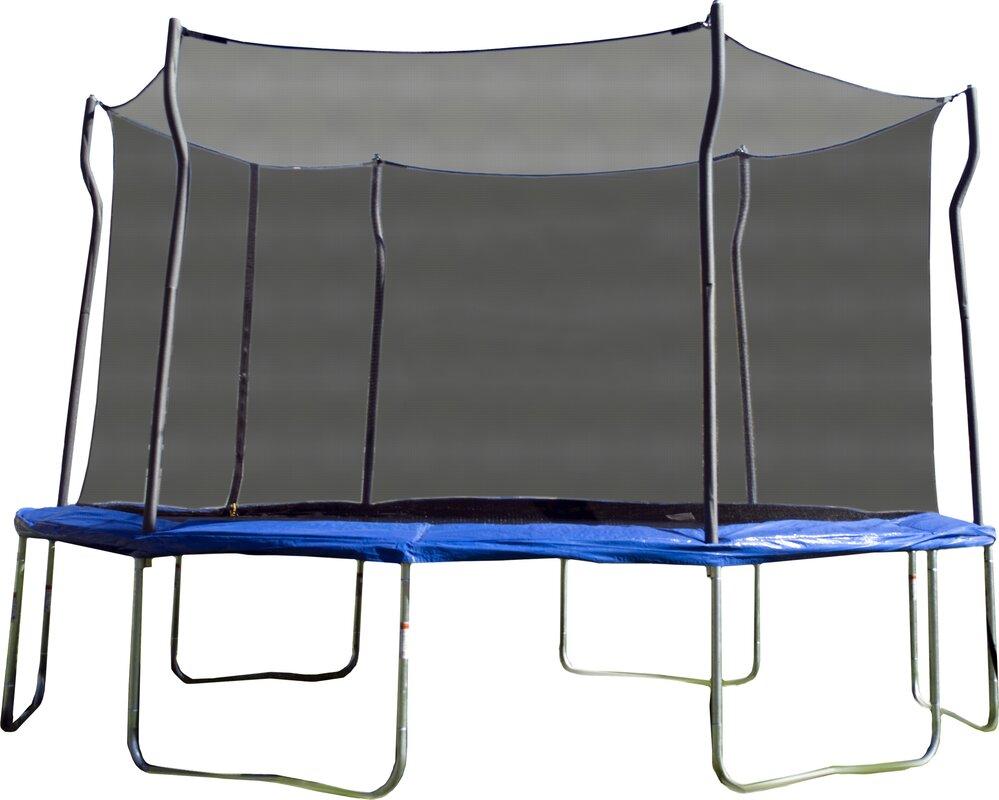 propel trampolines kinetic 14 u0027 trampoline and enclosure set