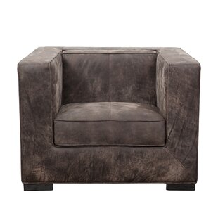 Philip Distressed Shelter Armchair