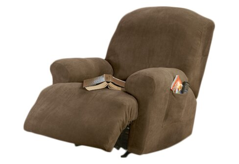 Sure Fit Stretch Pique T Cushion Recliner Slipcover