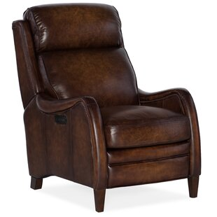 Stark Leather Power Recliner with Power Headrest
