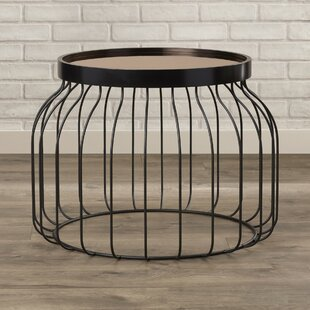Cutlip Bird Cage Tray Table by Mercury Row Spacial Price