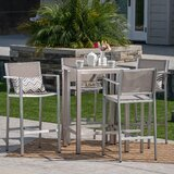 Royalston Outdoor 5 Piece Bar Set