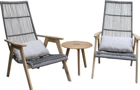 Largent Teak Patio Chair With Cushions Joss Main