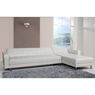 Rosina Sleeper Reversible Sleeper Sectional by Zipcode Design