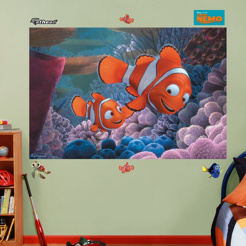 Lovely Disney Finding Nemo Wall Decal Part 26