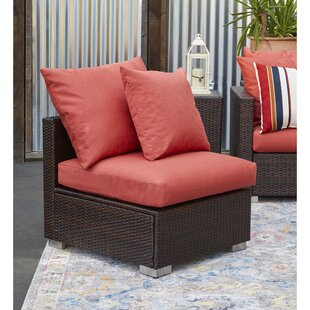 Mcmanis Outdoor Patio Chair with Sunbelievable Cushions