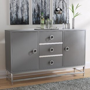 Exceptionnel Mccardle Modern 3 Drawer Wine Console Bar Cabinet