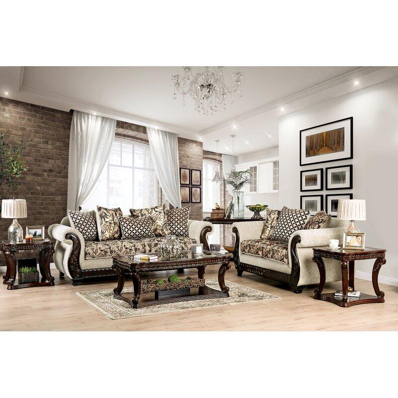 Astoria Grand Renetta Configurable Living Room Set Reviews Wayfair